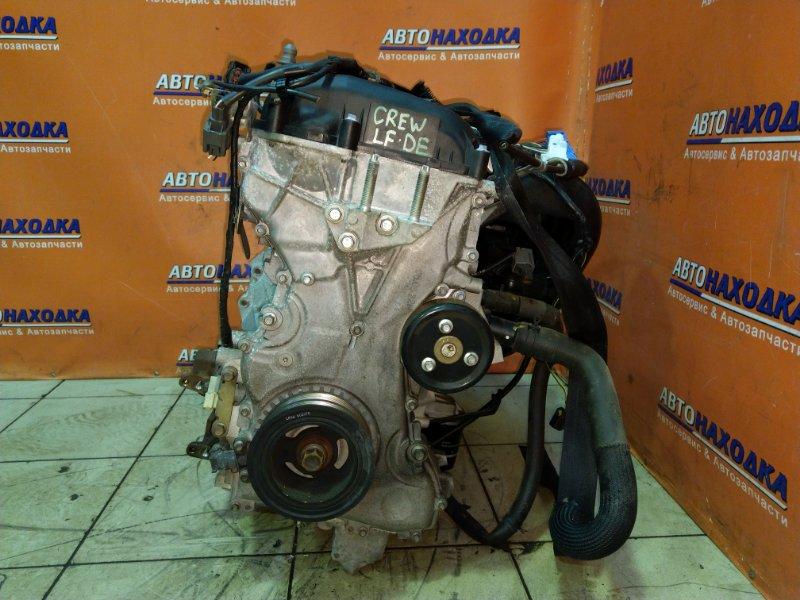 Двигатель Mazda Premacy CREW LF-DE 28.03.2006 733204 БЕЗ НАВЕСНОГО. 53Т.КМ.