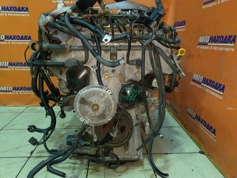Двигатель Nissan Cedric HY33 VQ30DE 11.1995 350265A БЕЗ НАВЕСНОГО . ПРОБЕГ 9Т.КМ.!!!!!!