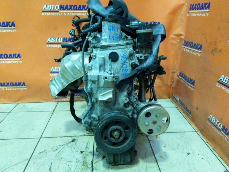 Двигатель Honda Mobilio Spike GK1 L15A 3210667 4ЕХ КАТУШЕЧНЫЙ.