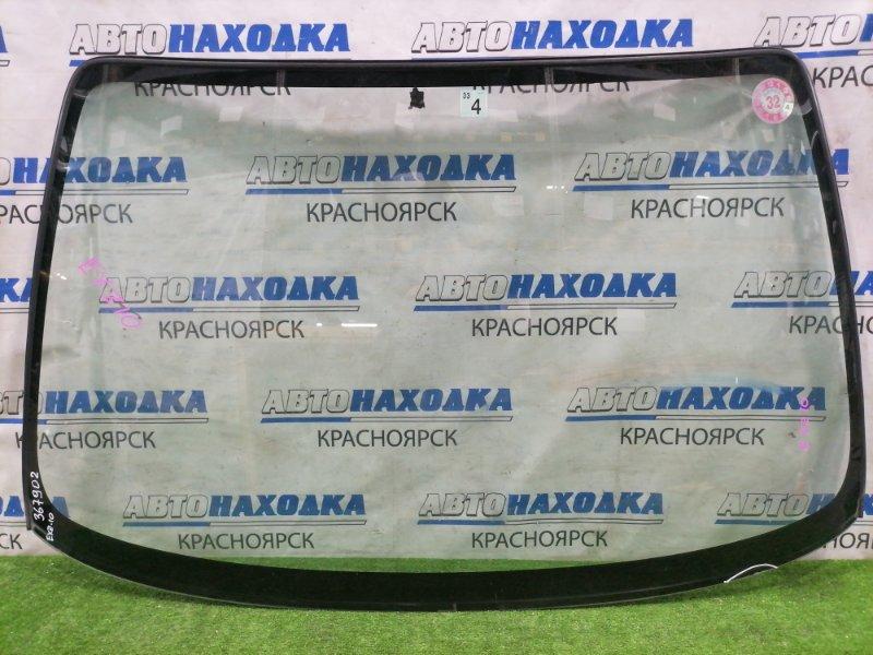Стекло лобовое Toyota Raum EXZ10 5E-FE 1999 переднее Оригинальное стекло без сколов и трещин.