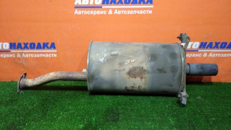 Глушитель Honda Stream RN1 D17A 2000 задняя бочка