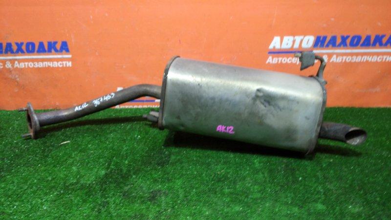 Глушитель Nissan March AK12 CR12DE 2002 задняя бочка