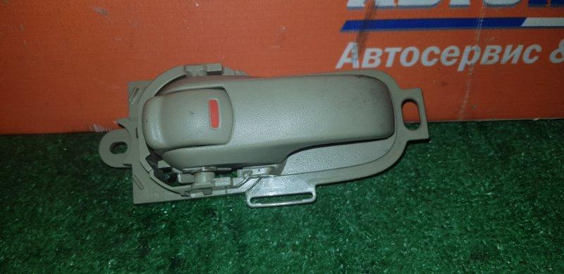 Ручка внутренняя Nissan Tiida Latio SC11 HR15DE 2004 задняя левая