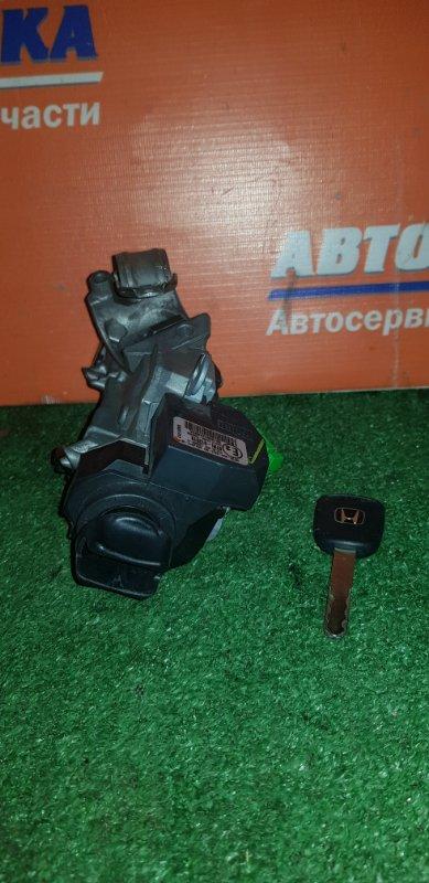 Замок зажигания Honda Fit GD1 L13A 2001 +ключ/под иммобилайзер