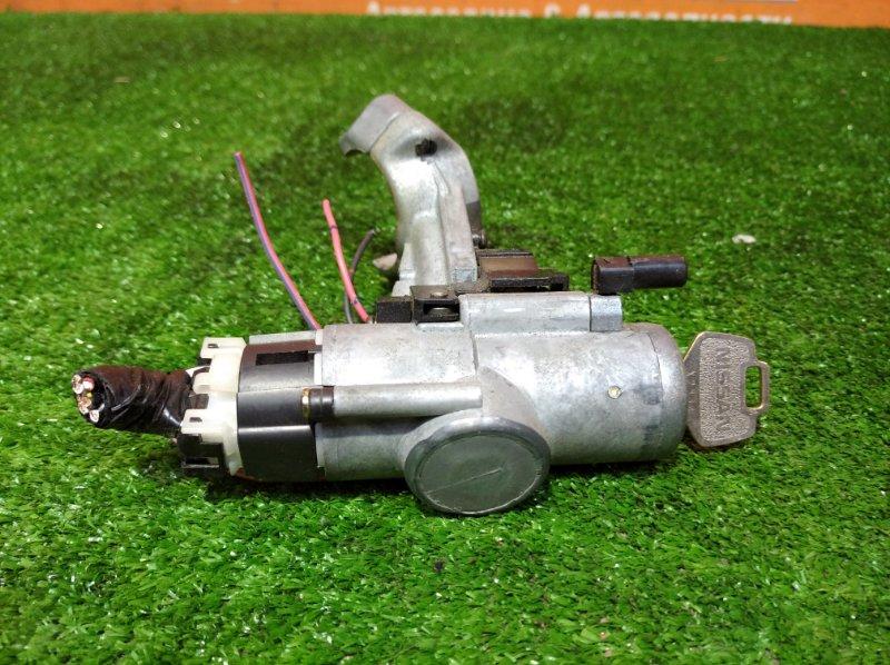 Замок зажигания Nissan March K11 CG10DE 1992 +ключ