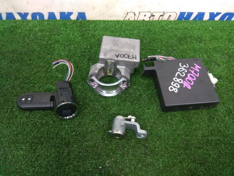 Замок зажигания Toyota Passo M700A 1KR-FE 2016 ключ-брелок, кнопка Старт-стоп, блок управления
