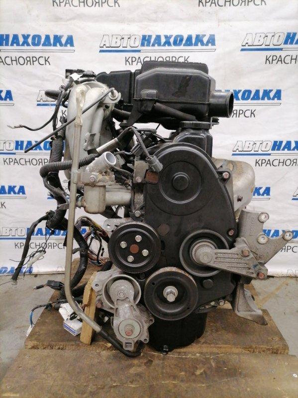 Двигатель Mitsubishi Pajero Mini H53A 4A30 1998 798739 № 798739, пробег 65 т.км. 03.2009 г.в. Одновальный (16