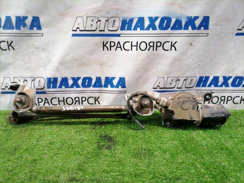 Мотор дворников Mitsubishi Colt Z21A 4A90 2002 передний 159200-7142 передний, в сборе с трапецией,
