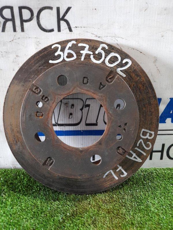 Диск тормозной Nissan Rayz Roox B21A 3B20 2014 передний передний, диаметр 208 мм, невентилируемый, с