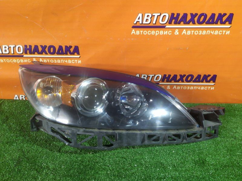 Фара Mazda Axela BKEP LF-VE 2006 передняя правая P2952 ХЭТЧБЕК, КСЕНОН, +ЭЛЕКТРОКОРРЕКТОР, БЕЗ ЛАМПЫ,