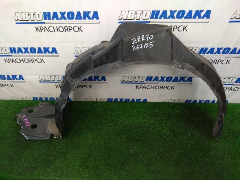 Подкрылок Toyota Voxy ZRR70G 3ZR-FE 2007 передний левый передний левый, есть надрывы в передней