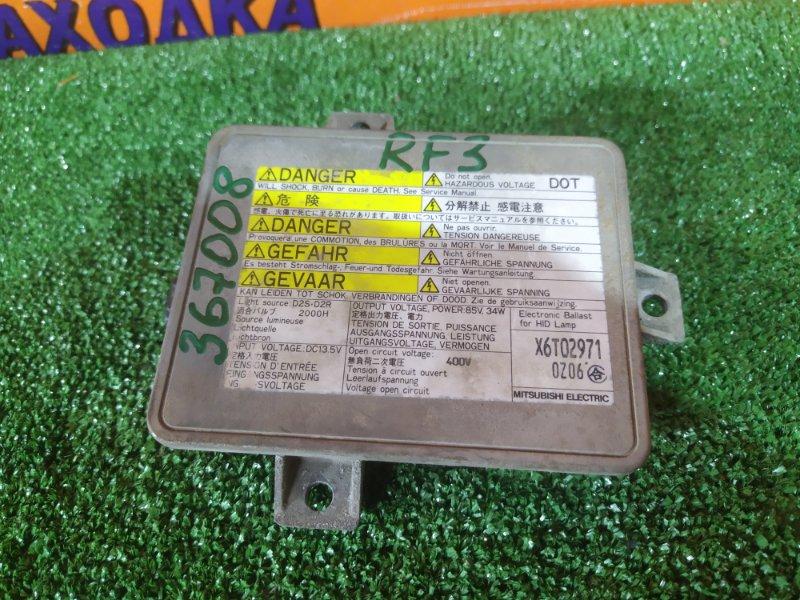Блок розжига ксенона Honda Stepwgn RF3 K20A X6T02971 D2R, D2S,