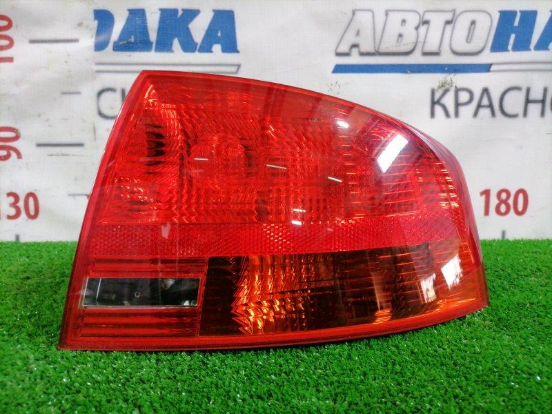 Фонарь задний Audi A4 B7 BWE 2004 задний правый 8E9945096 Задинй правый, седан, отсутствует