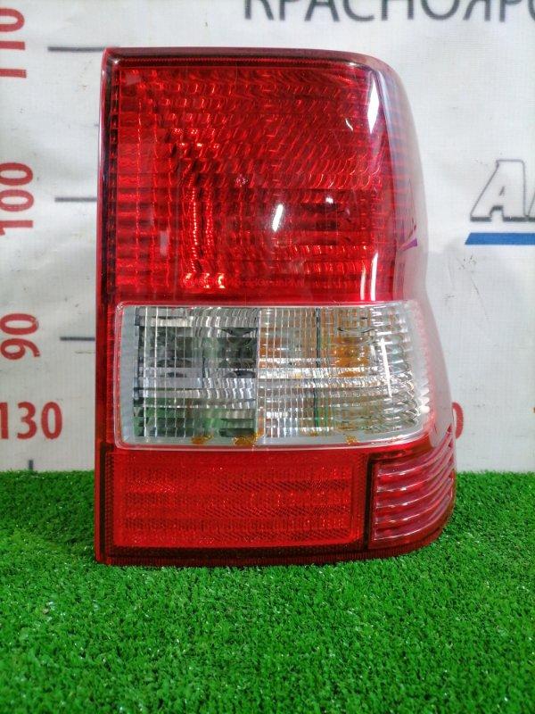 Фонарь задний Mitsubishi Pajero Io H76W 4G93 1998 задний правый 1146-330 Задний правый 1146-330, есть