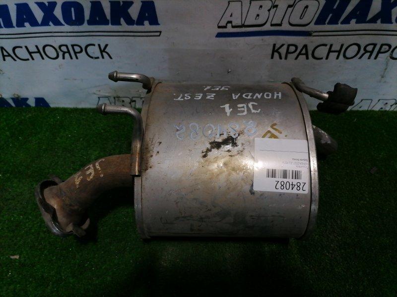 Глушитель Honda Zest JE1 P07A Задняя бочка.