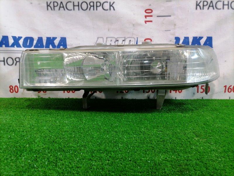 Фара Honda Inspire CC2 G25A 1992 передняя левая 033-6659 Левая, 033-6659, есть мелкие царапины под