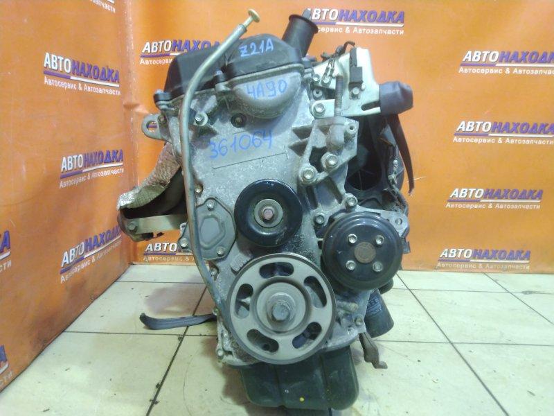 Двигатель Mitsubishi Colt Z21A 4A90 03.08.2010 AD6344 БЕЗ НАВЕСНОГО, 4A90-3-20