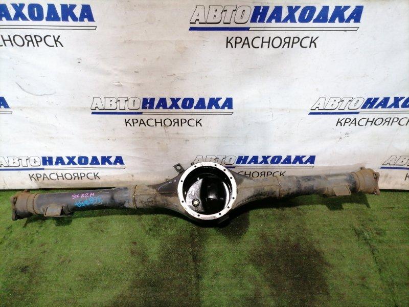 Чулок моста Mazda Bongo SK82M F8 1999 задний под односкатный мост, не под ABS.