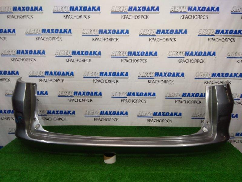 Бампер Honda Airwave GJ1 L15A 2005 задний задний, серый, вмятинки, под ремонт