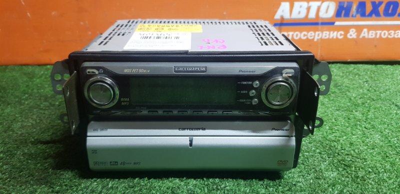 Магнитола Honda Stream RN1 D17A 2000 PIONEER DEH-P050+DVD ROM PIONEER AVIC-DRV20+КРОНШТЕЙНЫ
