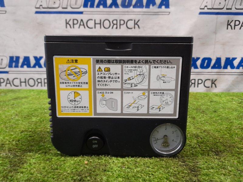Компрессор автомобильный Toyota Штатный, от гнезда прикуривателя /DC=12V, 10A, 350 kPa/