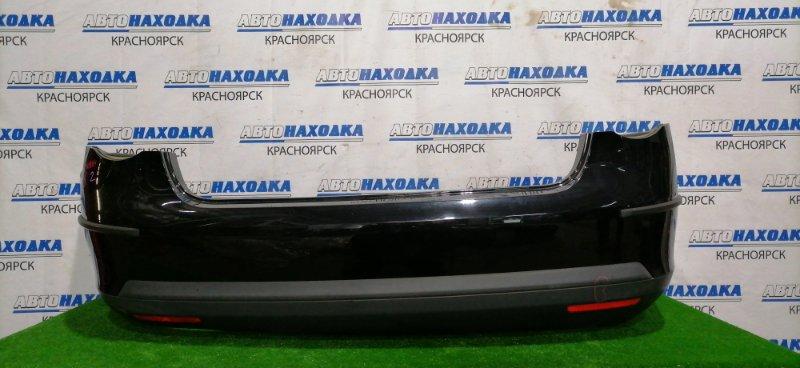 Бампер Volkswagen Jetta 1K2 BVY 2005 задний 1K5807521A Задний, цвет кузова: 2T/ C9X, с катафотми, боковыми