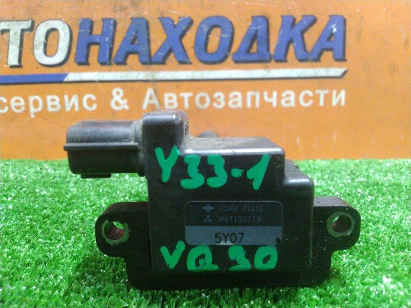 Катушка зажигания Nissan Cedric HY33 VQ30DE 11.1995 22448-31U16, H6T10271A