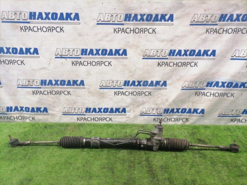 Рейка рулевая Mitsubishi Pajero Mini H53A 4A30 1994 в сборе с тягами и наконечниками.