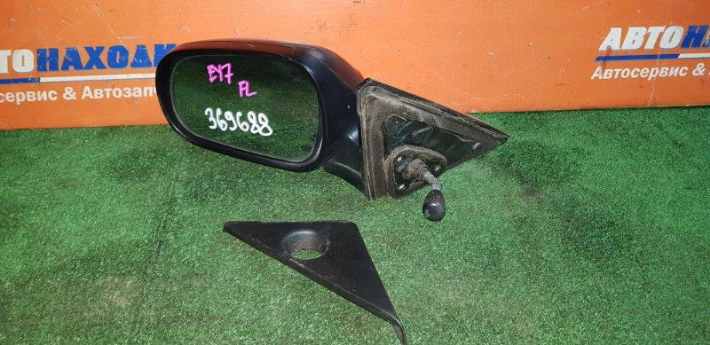 Зеркало Honda Partner EY7 D15B 1996 переднее левое механическое +внутренний уголок
