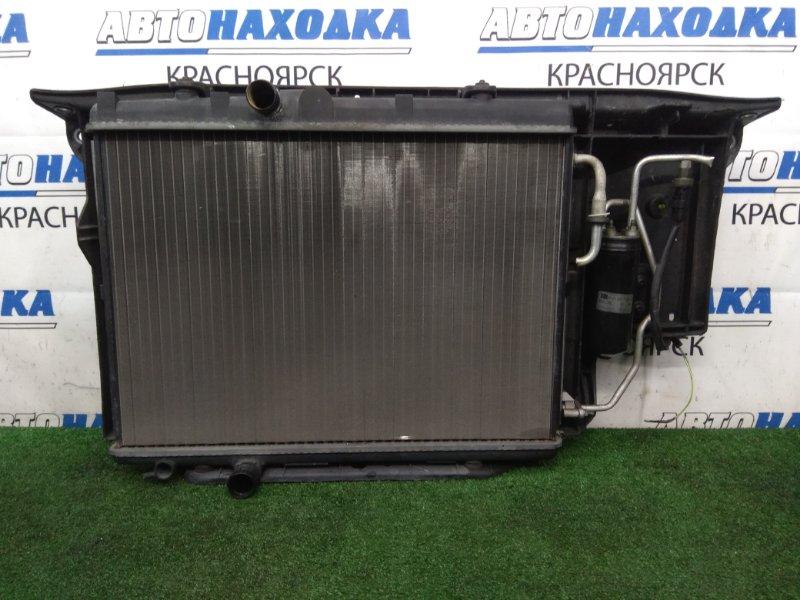 Рамка радиатора Peugeot 206 2A/C TU3JP 2003 пластиковая в сборе с радиаторами, диффузором,