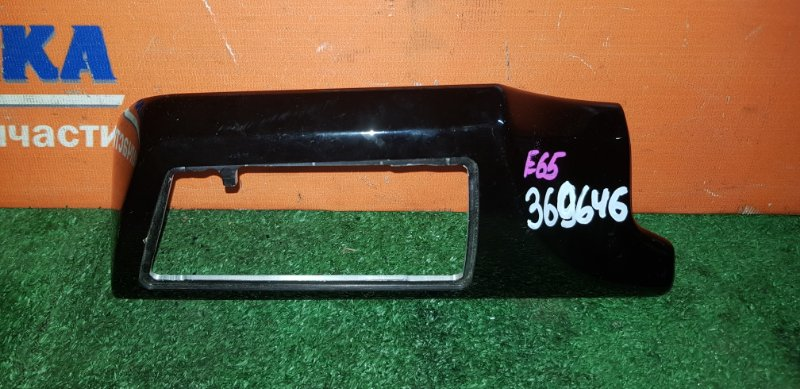 Пластик салона Bmw 750I E65 N62B48B 03.2008 передний левый под воздуховод