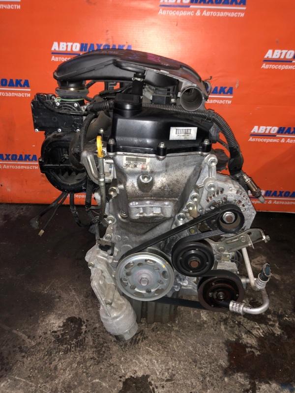 Двигатель Toyota Passo KGC30 1KR-FE 2010 1298479 №1298479 31т.км в сборе кроме коллектора выпускного