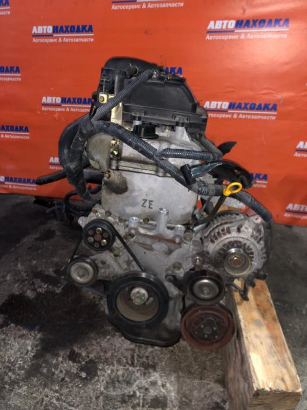 Двигатель Nissan March AK12 CR12DE 2002 273801 №273801 59т.км в сборе кроме коллектора выпуск