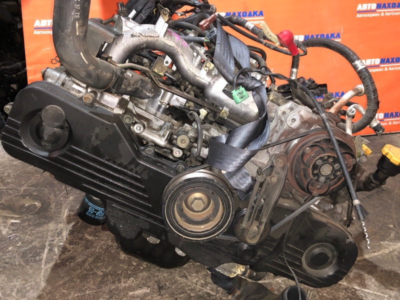 Двигатель Subaru Forester SG5 EJ20 2002 B967927 ХТС EJ202 B967927 54т.км частично без навесного Гарантия