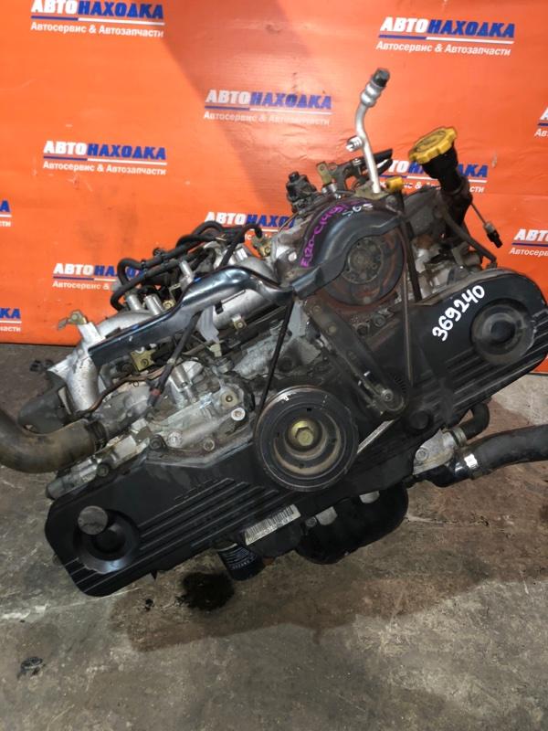 Двигатель Subaru Forester SG5 EJ20 2002 C149177 ХТС EJ202 C149177 63т.км частично без навесного Гарантия