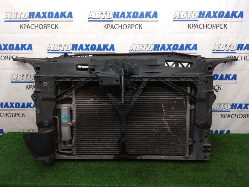 Рамка радиатора Mazda Axela BKEP LF-VE 2003 пластиковая, в сборе с радиаторами, замком и