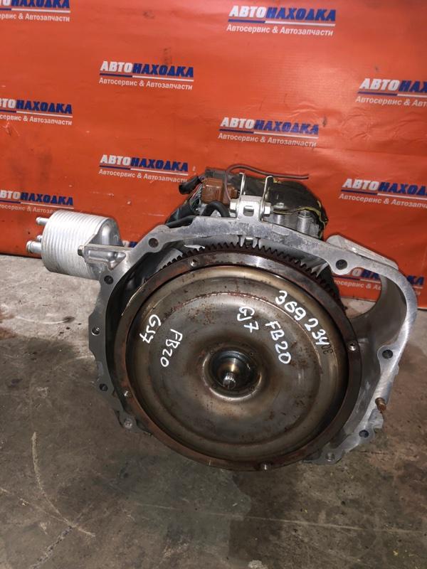 Акпп Subaru Impreza GJ7 FB20 2011 TR580DD5AA CVT ХТС 39т.км частично без навесного Гарантия на
