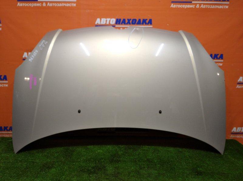 Капот Toyota Duet M101A K3-VE 2001 2 мод S26 есть вмятина