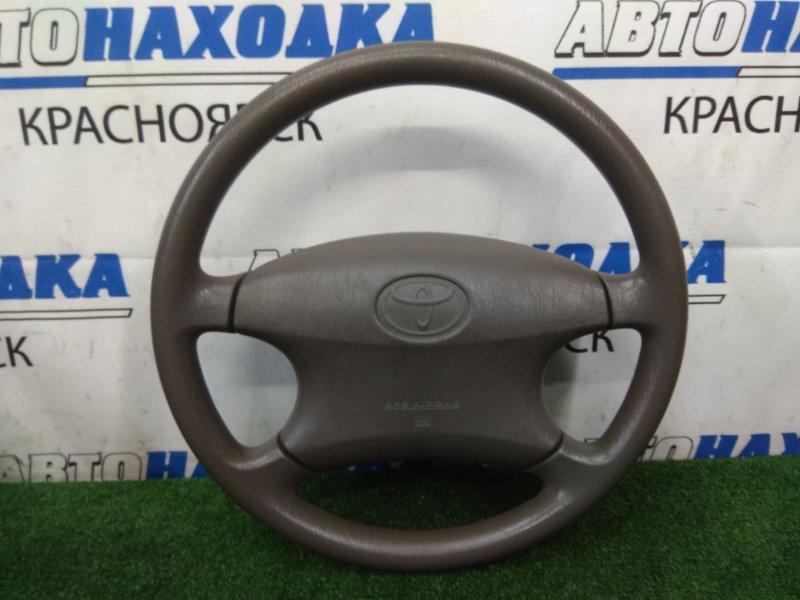 Airbag Toyota Corolla Fielder NZE121G 1NZ-FE 2000 передний правый ХТС, водительский, с рулем, с подушкой, без