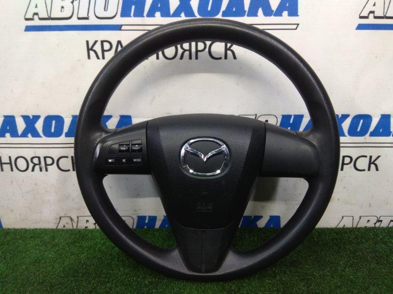 Airbag Mazda Premacy CWEFW LF-VDS 2010 водительский, с рулем, с подушкой, без заряда, мультируль,