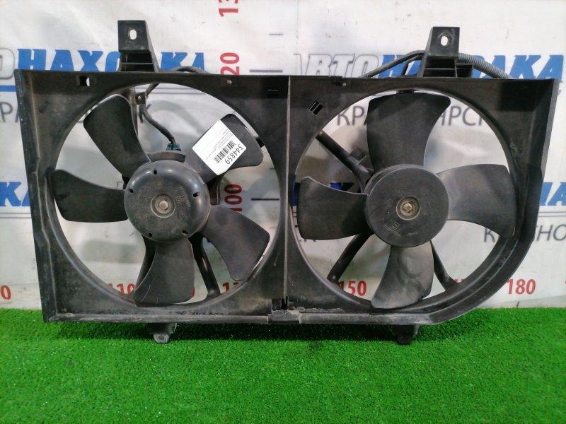 Вентилятор радиатора Nissan Primera WTP12 QR20DE 2001 двойной