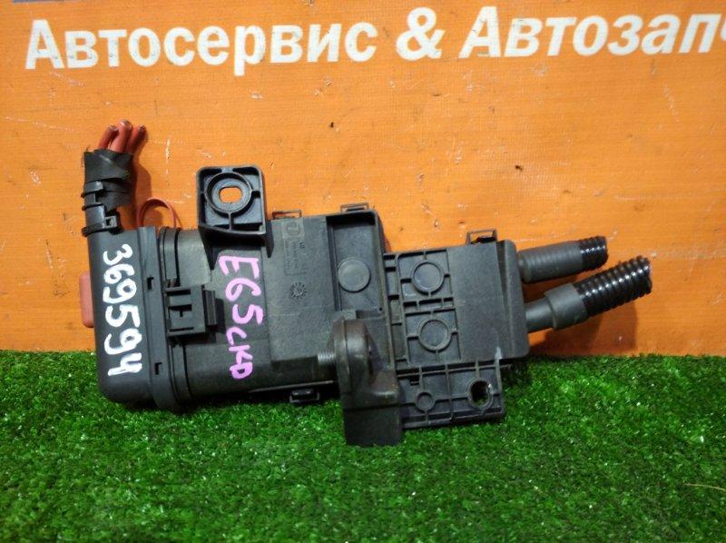 Клемма аккумулятора Bmw 750I E65 N62B48B 03.2008 61138387568 силовая клеммная колодка с разъемом
