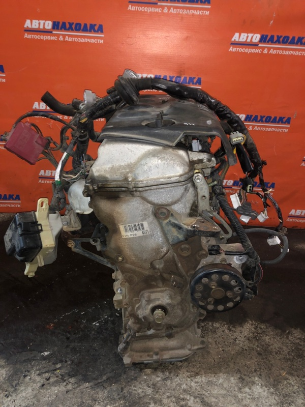 Двигатель Toyota Platz NCP12 1NZ-FE 1999 2156393 №2156393 1мод 91т.км частично без навесного Гарантия