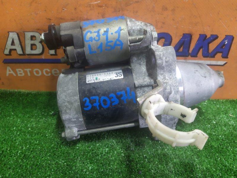 Стартер Honda Airwave GJ1 L15A 2005 428000-0360