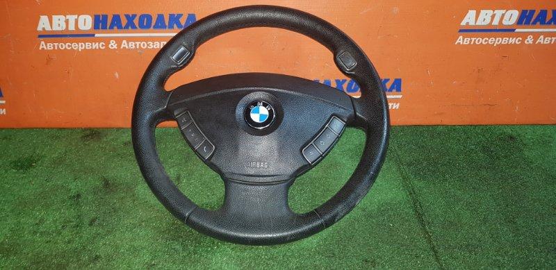Руль Bmw 750I E65 N62B48B 03.2008 +airbag с зарядом
