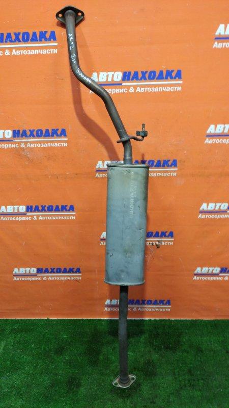 Глушитель Nissan March AK12 CR12DE 2002 средняя часть/ 1мод
