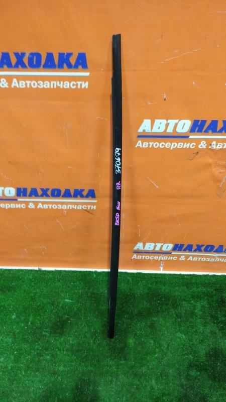 Молдинг на дверь Mazda Axela BK5P ZY-VE 2003 задний правый наружный на стекло