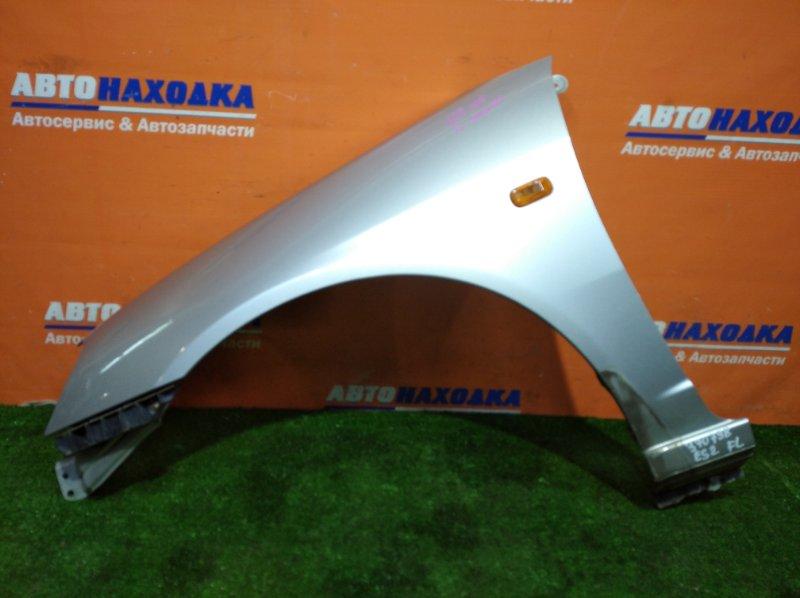 Крыло Honda Civic Ferio ES2 D15B 2000 переднее левое цвет NH623M ХТС + клипса+повторитель