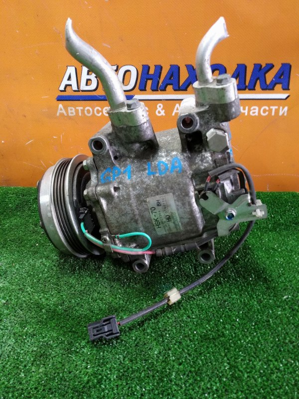 Компрессор кондиционера Honda Fit GP1 LDA 2011 HSK-70