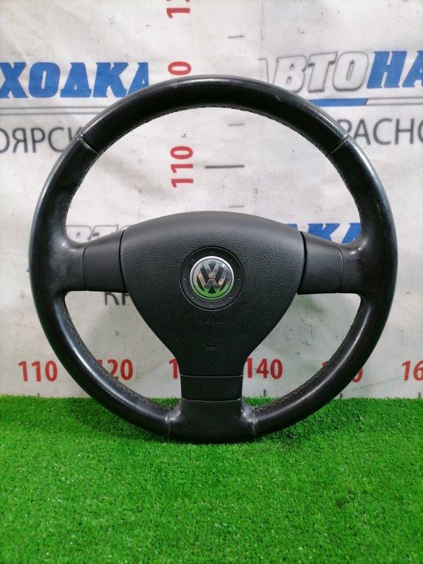 Airbag Volkswagen Jetta 1K2 BVY 2005 Водительский, с подушкой без заряда, рулем, кожа, есть